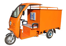 2015 Electric Courier Tricycle / Closed Cargo Box Battery Rickshaw