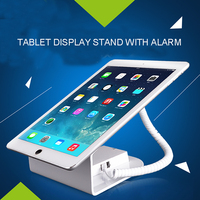 Tablet Security Cable Display Stand With Alarm