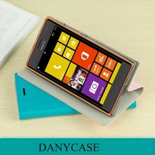 China supplier phone cases leather flip case for nokia lumia 735,case cover for nokia 735
