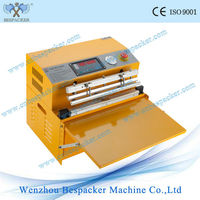 External type vacuum food pouch sealer machine