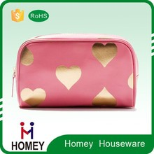 Custom Made Printed Makeup Artist Bag heart shaped bag