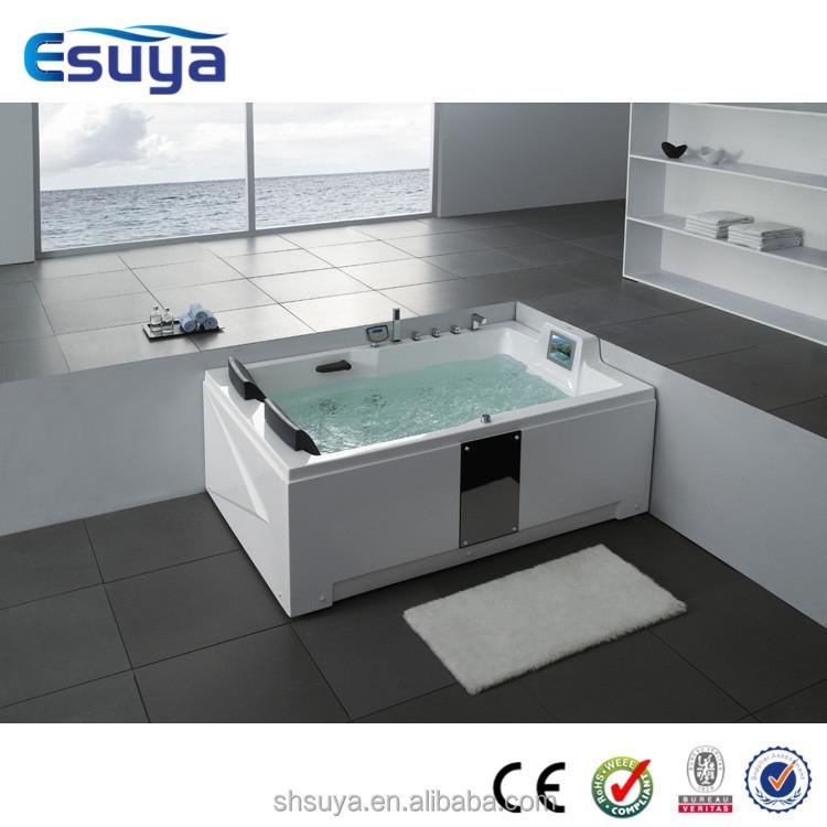 indoor corner spa hot tub whirlpool spa massage bathtub