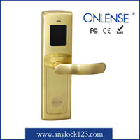 Electric door lock switch with lock reader and recorder
