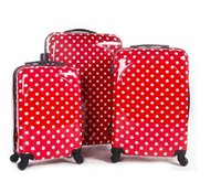 cheap luggage sets for sale withABS and PC material