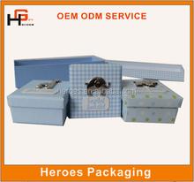 Trade Assurance Customized Paper Gift Box Birthday Gift Packing Box Supply