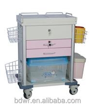 Baoding Vanry Hot Selling Hospital Emergency Trolley for Nursing