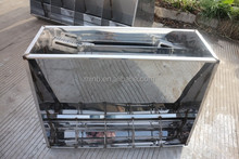Stainless steel feeding trough for pig farm