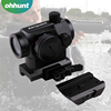 1x20mm Riflescopes T1 Red Green Dot Reflex Sight Scope With Low and High Weaver Picatinny Mount