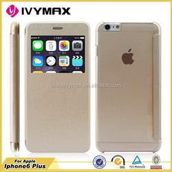 new design leather case for iphone 6 plus