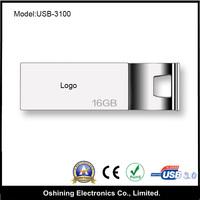 top selling custom solid metal mini usb3.0 flash drive (USB-3100)