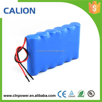 Li-Ion 18650 22.2V 2200 mAh Rechargeable Battery Pack PCB Protection w/ Connector and Bare Leads