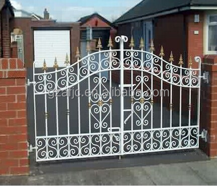 New design gate for houses metal home gates house gate for Front gate designs for homes