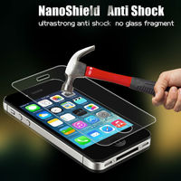 2015 new product nano technology for smart phone invisible screen shield protector for iphone4 shatter resistent screen cover