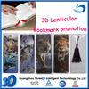 Free sample 3d plastic cover spiral notebook