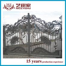 New Type wrought iron decorative metal gate design