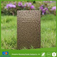 Special Crack Effect Electrostatic Epoxy-Polyester Paint Powder Coating