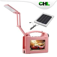 Multifunctional CHL solar energy tv with flashlight