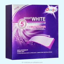 Teeth Whitening Strips with Detal Gel Whitening, no need crest teeth whitening strips