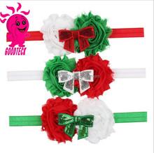 2015 new fashion baby hair accessories fashion christmas hairband baby headband baby hair bow headband