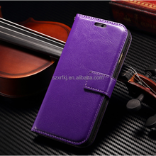 best cell phone covers and cases / custom pu leather cell phone cover / 2015 case mobile in black color