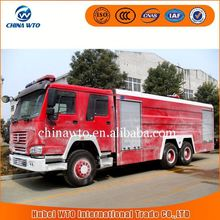 China supplier 6x4 15000L fire truck cabin chassis truck, fire fighting truck types of fire trucks, fire engine truck