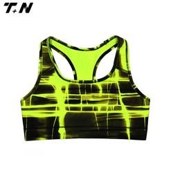 Wholesale OEM digital printing sport bra / quick dry sports bra