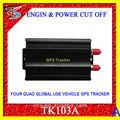 top venta de sms gprs gps tracker tk103 en tiempo real del gps del vehículo tracker