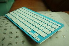 Ultra Slim Magnetic Slot Aluminum Wireless Bluetooth Keyboard For iPad Mini