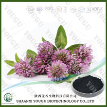 chinese ISO certified manufacturer supply Herbal Red Clover Extract Isoflavones powder