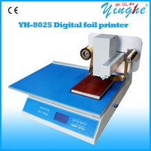 Hot sale foil print machine/digital gold foil printer/new designed leather printing machine
