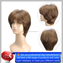 Factory Price Synthetic Lace Wigs, fashion spiky hair wigs, High Quality Kids Synthetic Hair Wigs