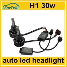 double sides 30W h1 car led headlight conversion kit 6000k