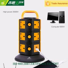 Mid-East market extension cord plug and socket electrical outlet multi electrical plug