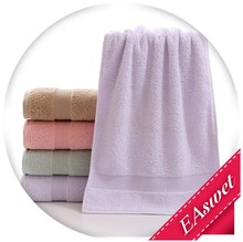hot selling satin border egyption cotton face towel