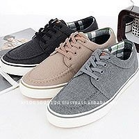 ssd0188 laceup mans canvas sneakers