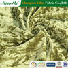 China changshu wholesale top quality crushed velvet fabric export to gulf country