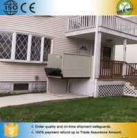 Wheelchair lift platform/Home elevator/Hydraulic lift for disabled people