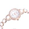 New women dress watch Luxury glass beads pearls watch /weiqin watch ladies