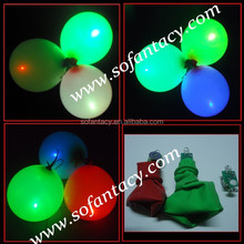 colour changing led balloon with switch and 3 light models for wedding decoration