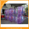 2015/100% 0.70mm TPU human bubble football inflatable body bumper ball 2015