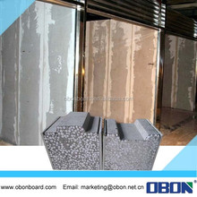 OBON fast construction precast materials used building partition wall