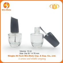 Fancy shape clear empty bottle for nail art