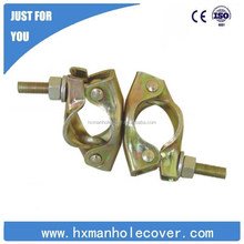 forged swivel coupler/forged fixed coupler/forged clamp and scaffold clip