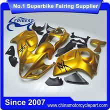 FFKSU013 Motorcycle ABS Fairing Kit For GSXR 1300 Hayabusa 2008-2014 Gold