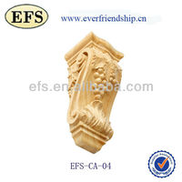 Exquisite high quality decorative wooden carving sculpture (EFS-CA-04)