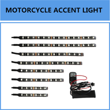 High Quality Flexible LED Glow Light Motorcycle Million Color with Remote Controller