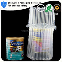 Well Armor Pack inflatable air cushion bag for milk powder can 900g