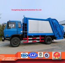 factory price!! Dongfeng 10cbm compression garbage truck 8 tons for sale