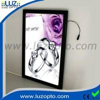 Wholesale Frameless Aluminium Ultra Slim Tradeshow Display Advertising Led Light Box