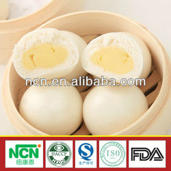 organic snacks food manufacturer steamed bun stuffed with creamy hot sell
